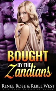 Bought by the Zandians Renee Rose